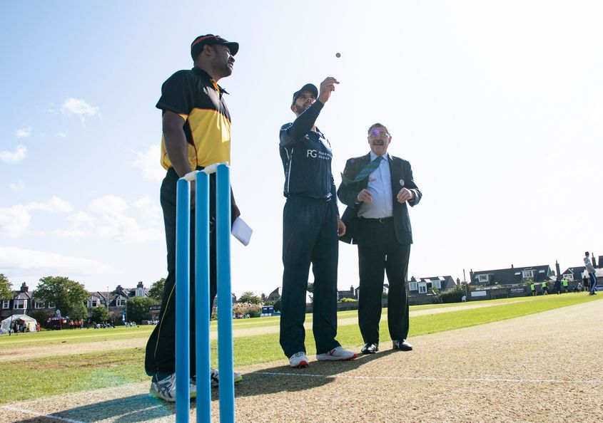 Scotland won the toss and opted to bowl