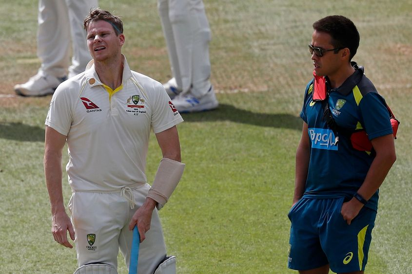 Steve Smith was withdrawn from the second Test and substituted as per the new concussion rules