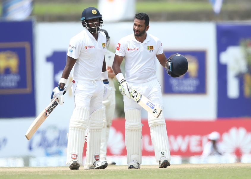 Karunaratne is in the top 10 Test batsmen list for the first time