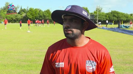 ICC Men's T20 World Cup Qualifier 2019 - Bermuda v USA Pre-Match Captains Interviews