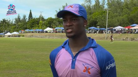 Men's T20WCQ Americas: Bermuda v USA – Delray Rawlins, Player of the Match