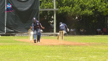 Men's T20WCQ Americas: Bermuda v USA – Patel run out by Fray