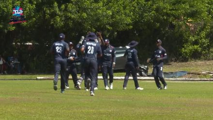 Men's T20WCQ Americas: Bermuda v USA – Jessy Singh takes two wickets