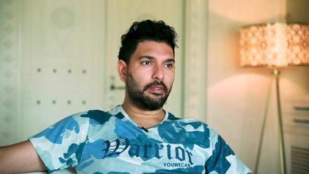 Yuvraj Singh looks back at his career