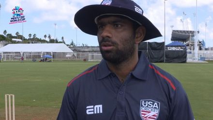 Men's T20WCQ Americas: USA v Cayman Islands – Pre-match interviews