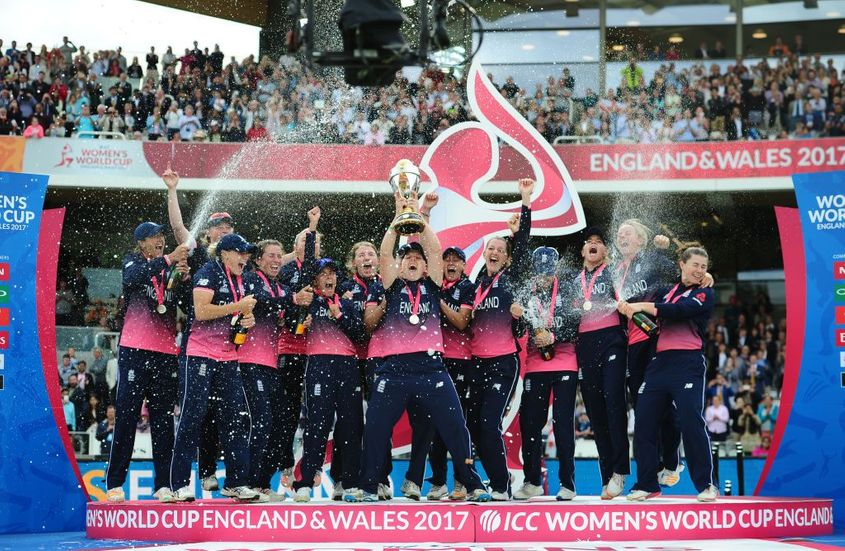 England beat India in the final of the 2017 ICC Women's Cricket World Cup
