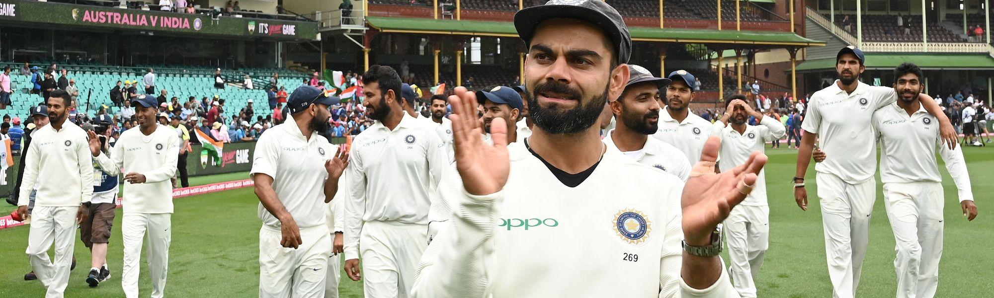 Kohli Test India