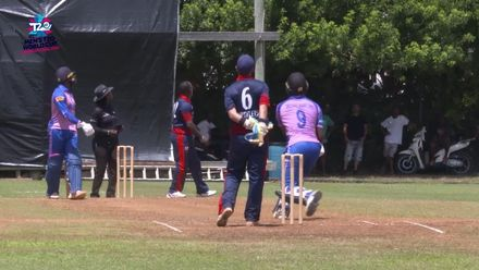 Men's T20WCQ Americas: Bermuda v Cayman Islands - Delray Rawlins gets Bermuda over the line with 49 from 31