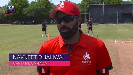 Men's T20WCQ Americas: Canada v USA - Pre-match captain interviews
