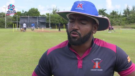 Men's T20WCQ Americas: Bermuda v Cayman Islands – pre-match interviews