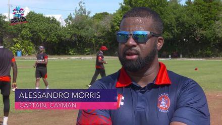 Men's T20WCQ Americas: Cayman Islands v Canada - Pre-match captain interviews