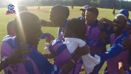 Men's T20WCQ Americas: USA v Bermuda – Bermuda's winning moment