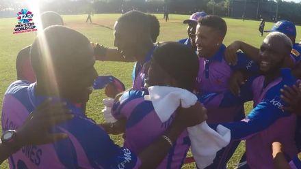 Men's T20WCQ Americas: USA v Bermuda – Bermuda's winning moment