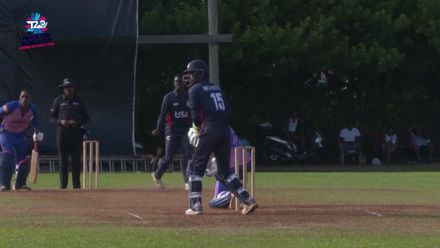 Men's T20WCQ Americas: USA v Bermuda – Match highlights