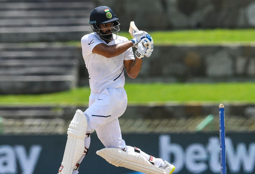 Hanuma Vihari continued his good run from the India A series and registered his second Test fifty on Sunday.
