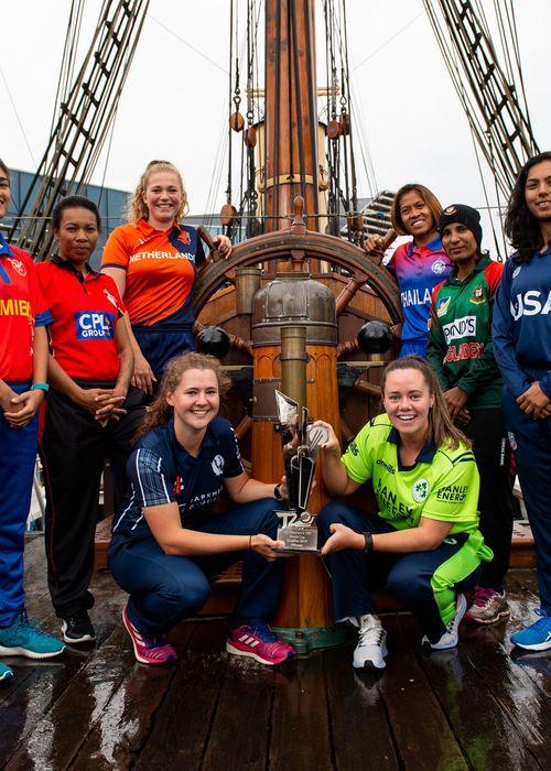 ICC Women's T20 World Cup Qualifier Captains