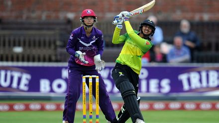 India's Smriti Mandhana had a big impact in her debut year with Western Storm, being named the Player of the Tournament in 2018