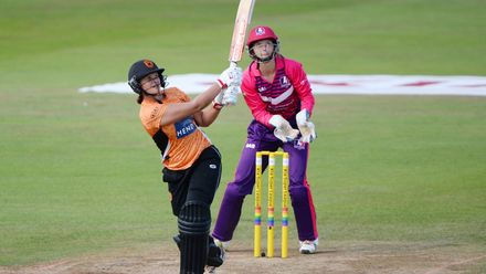 Suzie Bates became the tournament's first centurion in 2017