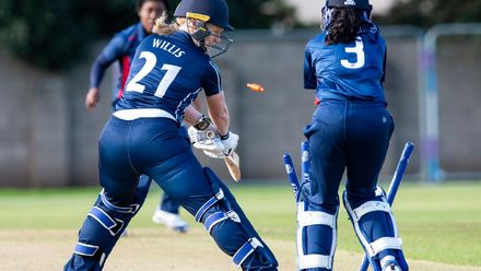 Ruth Willis survives a stumping