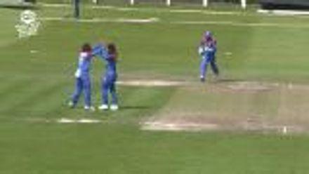 ICC T20WC Qualifier: THA v NED - Chanida Suttiruang's 3/5 highlights