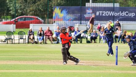 ICC T20WC Qualifier: SCO v PNG - Match highlights