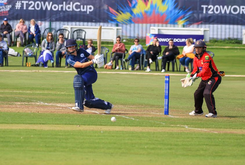 Kathryn Bryce who top scored for Scotland with 45.