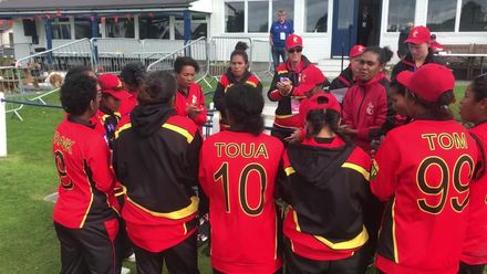 ICC T20WC Qualifier: SCO v PNG - PNG celebrate their win