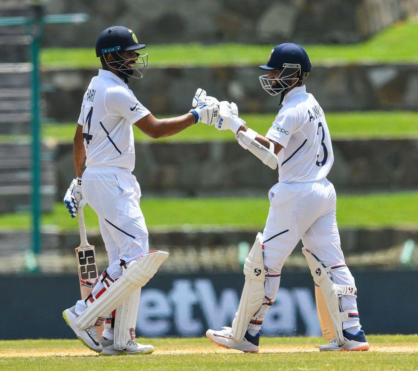 Hanuma Vihari and Ajinkya Rahane enjoyed a 111 run partnership