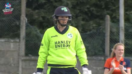 ICC T20WC Qualifier: IRE v NED - Richardson hits out in the final over