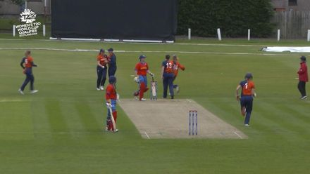ICC T20WC Qualifier: NED v NAM - Wittman skies one to mid-on
