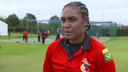 ICC T20WC Qualifier: PNG v USA - Ravini Oa pre-match interview