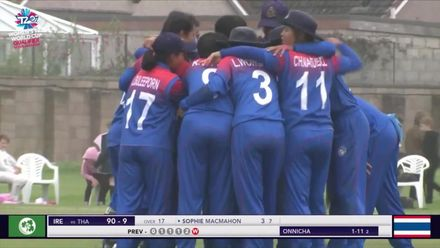 ICC T20WC Qualifier: IRE v THA - Thailand claimed victory by two runs