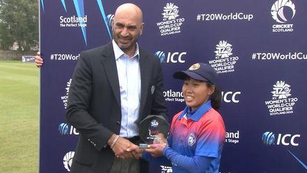 ICC T20WC Qualifier: IRE v THA - Post-match presentation