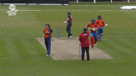 ICC T20WC Qualifier: NED v NAM - van der Merwe gets trapped lbw