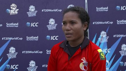 ICC T20WC Qualifier: PNG v USA - Sibona Jimmy Player of the match interview