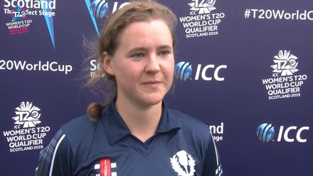 ICC T20WC Qualifier: SCO v BAN - Kathryn Bryce says 'Lots to learn' from tournament
