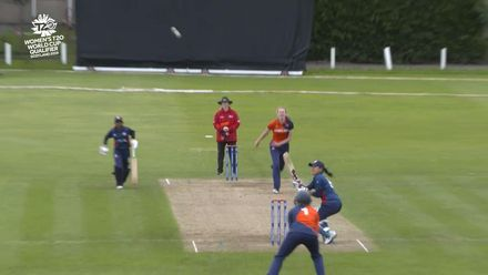ICC T20WC Qualifier: NED v USA - Nadia Gruny's 53, highlights