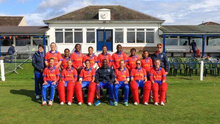 Namibia team.