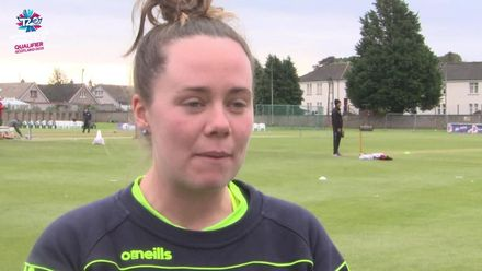 ICC T20WC Qualifier: BAN v IRE - Laura Delany pre-match interview
