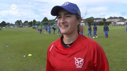 ICC T20WC Qualifier: SCO v NAM - Yasmeen Khan pre-match interview