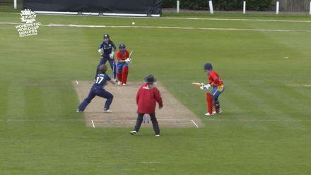 ICC T20WC Qualifier: SCO v NAM - Kathryn Bryce 2/6, highlights