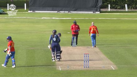 ICC T20WC Qualifier: SCO v NAM - Sarah Bryce 37*, highlights