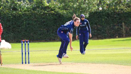 Hannah Rainey who took 1 for 8