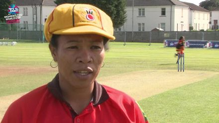 ICC T20WC Qualifier: THA v PNG - Kaia Arua pre-match interview