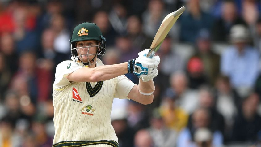 Smith dealt with the short ball tactfully