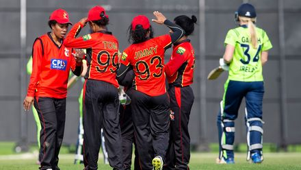 PNG celebrate as Ireland's Kim Garth goes for 29.