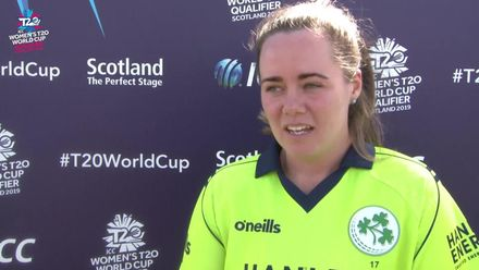 ICC T20WC Qualifier: IRE v PNG - Laura Delany post-match interview
