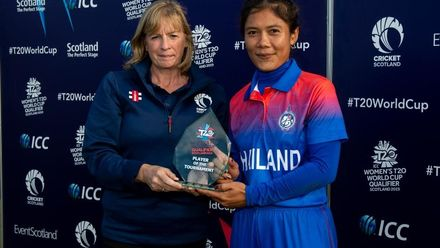 ICC T20WC Qualifier: BAN v THA - Post-match presentation