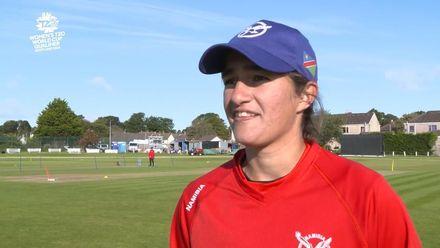 ICC T20WC Qualifier: USA v NAM - Yasmeen Khan pre-match interview