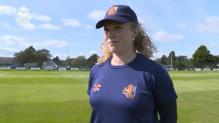 ICC T20WC Qualifier: SCO v NED - Juliët Post pre-match interview